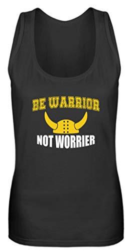 Generisch Be Warrior Not Worrier - Camiseta Tirantes
