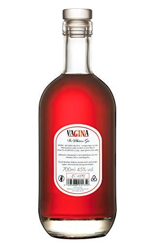 vaGINa - The Hibiscus Gin   45% 0,7l   Aus echten Hibiskusblüten   Handcrafted in Deutschland - 2
