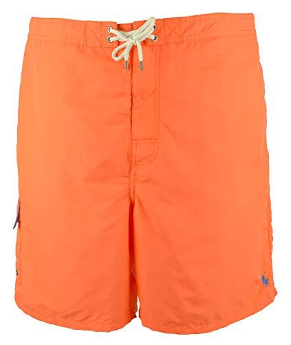 Ralph Lauren Polo Herren Badehose Kailua (2XB, Flare Orange)