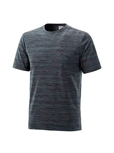 Joy - Herren Sport und Freizeit Shirt mit Rundhalsausschnitt, Vitus (40205), Größe:60, Farbe:Grey Melange (71050)