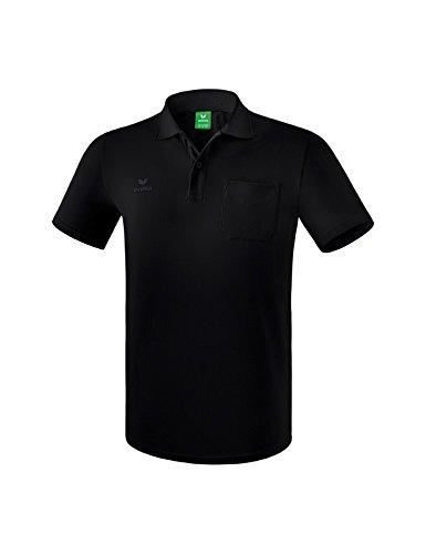 ERIMA Herren Poloshirt Poloshirt mit Brusttasche, schwarz, XL, 2111801