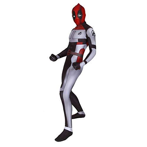 CXYGZLJ Avengers 4 Deadpool Edition Traje de Batalla cuntico, Monos de Cosplay para Adultos y nios, Leotardo, Traje Ajustado de Halloween, Juego de Ropa de rol de Anime,Women S