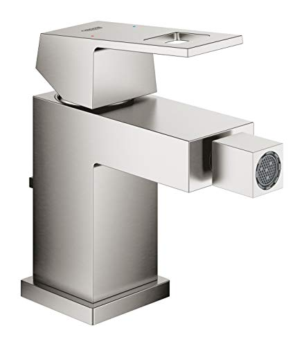 Why Should You Buy GROHE 23138DC0 Eurocube OHM bidet Tap, Supersteel