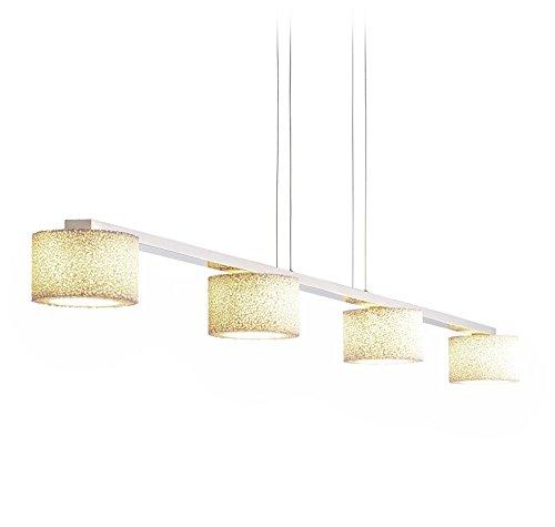 Serien Lighting Reef Bar Pendelleuchte 4-flammig LED, Aluminium poliert