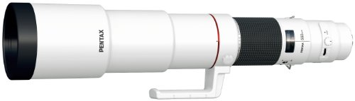 Pentax DA F5.6 ED AW - Objetivo para cámara (560 mm) Color Blanco
