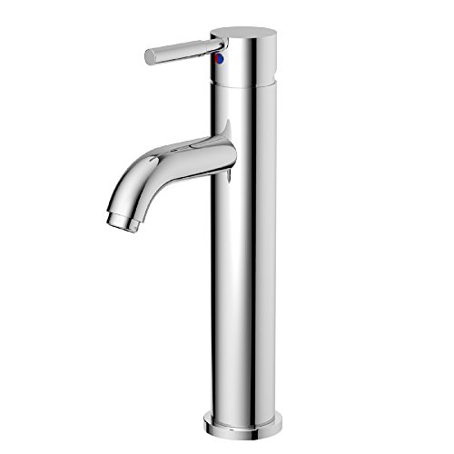 Product Image of the AquaSource Grabill Chrome 1-Handle Single Hole WaterSense Bathroom Faucet with Drain