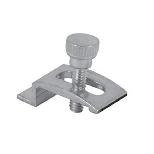 Make-2-Fit PL 7939 Storm Door Panel Clips with Screws, 1/4