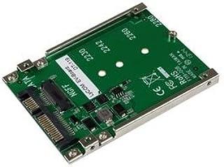 """StarTech.com Convertitore Adattatore SSD NGFF M.2 a SATA, 2.5"""""""