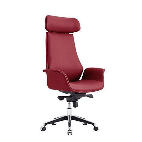 Lwieui Silla de Oficina Ergonómico Ordenador Silla Moderna Silla de Oficina con Respaldo Alto Silla de Oficina con Ruedas Ejecutivo Ordenador Las sillas de Escritorio
