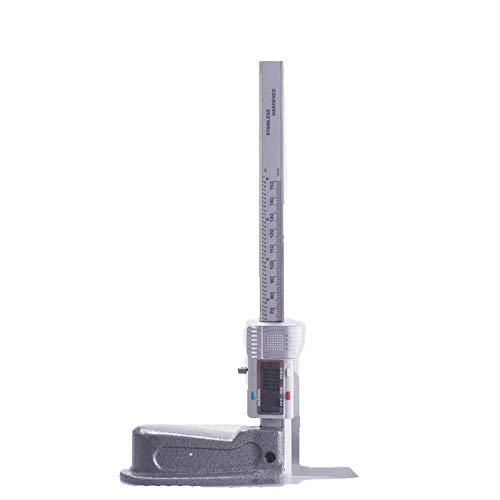 ULTECHNOVO Digitales H/öhenmessger/ät LCD-H/öhenmessschieber mit Magnetf/ü/ßen Holzbearbeitungsmesswerkzeuge Ohne Batterie