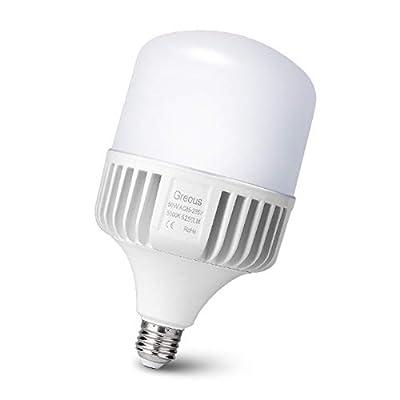 Greous 50W (350-400Watt Equivalent) LED Light Bulbs-5250 lumens, 5000K Daylight,E26 Medium Screw Base Home Lighting,for Garage,Area Light, Warehouse Office Backyard high Bay and More