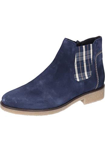 Gabor Damen Comfort Sport Stiefeletten, Blau (Marine (Karo/Mic) 36), 38 EU