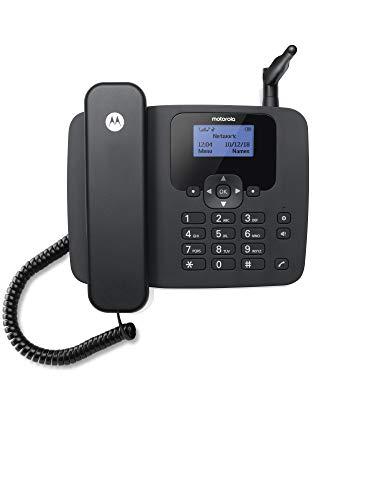 Motorola Fixed Wireless Telephone, Black