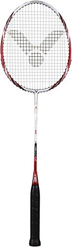 VICTOR Badmintonschläger Atomos 500, Silber/Rot, 083/0/5
