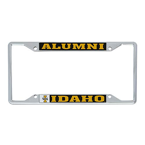 Desert Cactus University of Idaho Vandals NCAA Metal License Plate Frame for Front Back of Car Officially Licensed (Alumni)
