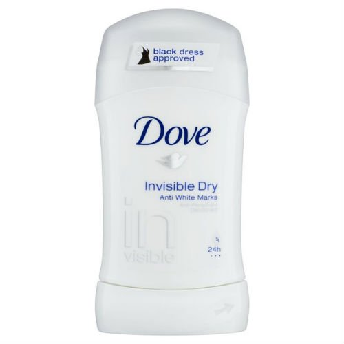 Dove Desodorante invisible Dry Stick antitranspirante, 40 ml, caja de 6