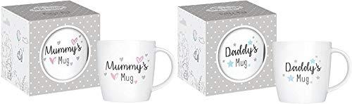 New Parents Mugs Mummy Daddy Newborn Baby Shower Gift 12oz Mug New Bone...