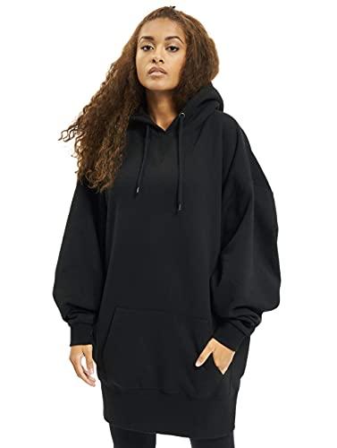 Urban Classics Ladies Long Oversize Hoody Sweatshirt Capuche, Noir, M Femme