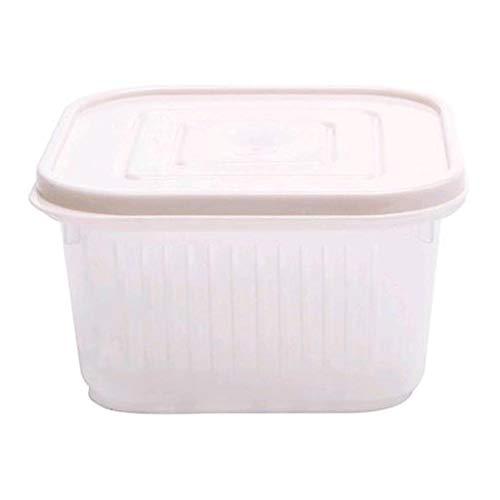 Vacuüm opslag met luchtdichte deksels, verzegelde Freshsaver Box voor pasta, muesli, rijst, diervoeding en meer.