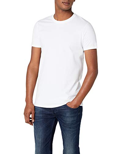 Anvil - T-Shirt - Manches 1/2 - Homme - Blanc (WHT-White) - FR : 50 (Taille fabricant : M)