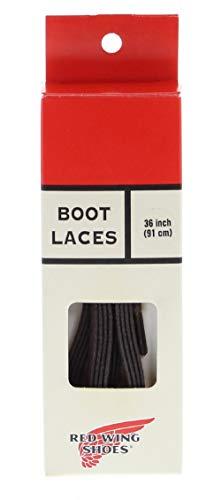 FB Fashion Boots Red Wing Shoes FLAT WAXED Brown/Breite Schnürsenkel Braun (36 Inch/ 61 cm, Brown)