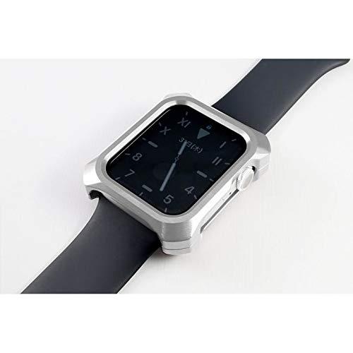 Gild Design ギルドデザイン Solid bumper ソリッドバンパー for Apple Watch シルバー(44mm、Series4.5用)