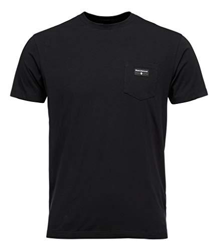 Black Diamond M Pocket Label Tee T-Shirt pour Homme XS Noir