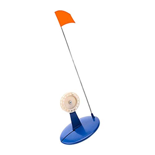 Toygogo Eisangeln Tip Up Cover Eisangeln Tip Up Mit Oranger Flagge