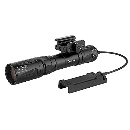 OLIGHT Odin Turbo 330 Lumens Magnetic USB Rechargeable LEP Tactical Flashlight with Remote Pressure Switch, Picatinny Rail-Mounted Flashlight Powered by Customized 5000mAh 21700 Battery