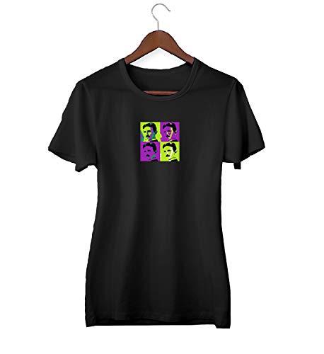 Nicola Tesla Inventor Pop Art Poster_KK022953 T-shirt T-shirt voor mannen cadeau voor hem cadeau verjaardag Kerstmis