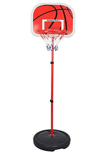 LNLJ Soportes de baloncesto – Juguetes divertidos para interiores y exteriores para niños, 73 – 170 cm de altura ajustable aro de baloncesto, juguete para niños regalo de cumpleaños