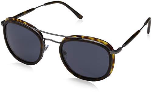 Armani AR6054-300387-51 rechthoekige zonnebril 51, grijs
