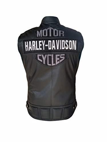 Parche para Harley Davidson logotipo B/&S Media 13/x 9,5 cm para chaquetas y chalecos