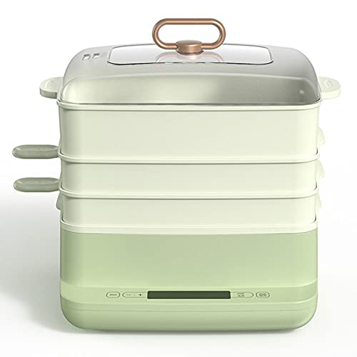 BKX Vaporizador eléctrico automático 3 Capas de Alimentos multifunción de Alimentos cocinantes de cocción de cocción de cocción