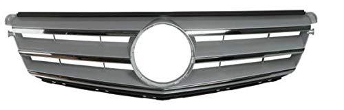 CHROME ARGENT CALANDRE/brilante SEAT SANS EMBLÈME - MOD. AMG 63016196