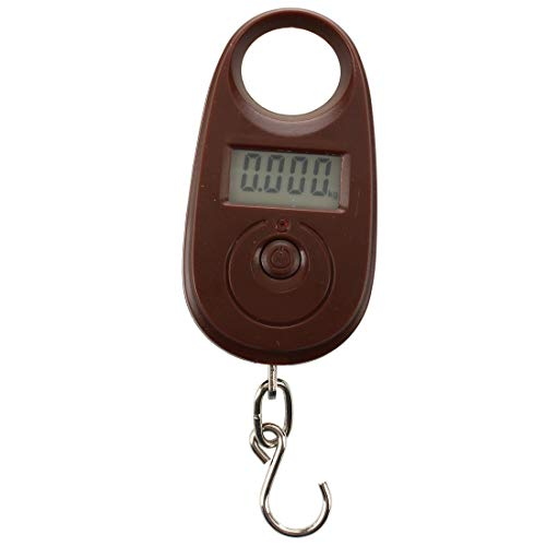 Senmubery 25kg/ 5g Digital Hanging Scale Fishing Scale Luggage Scale Spring