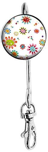 Miss KHA - Sleutelhanger bloemen Pop