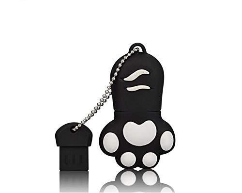 USB-Stick Cat Claw USB-Stick Mini Tragbar Schnelle Geschwindigkeit USB2.0 16/32/64/128/256 / 512GB Kreativer Cartoon Autocomputer Spieler Fernseher Personalisierte Geschenke Süße Mode (256GB,D)