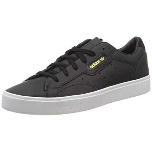 adidas Sleek W, Scarpe da Ginnastica Donna, Schwarz (Core Black/Core Black/Crystal White 0), 38 EU