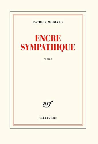 Encre sympathique - Patrick Modiano