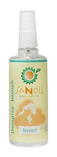 Sanoll, Deo - basisch - Neroli, 100 ml