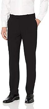 Van Heusen Men's Flex Flat Front Straight Fit Pant (various sizes in Black)
