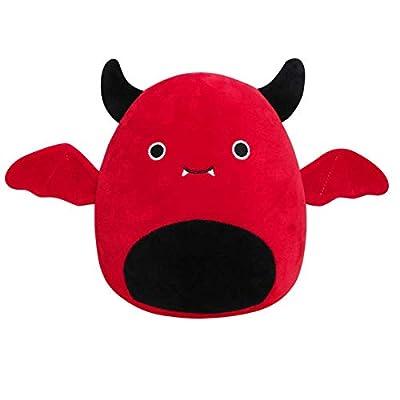 8 inch-12 inch Plush Toy The bat Penguin Dinosaur Toy Soft Plush Toy Doll Kids Gifts for Birthday, Valentine, Christmas Red