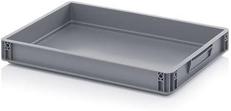 4x Eurobehälter-Eurobox 60 x 40 x 7,5 cm