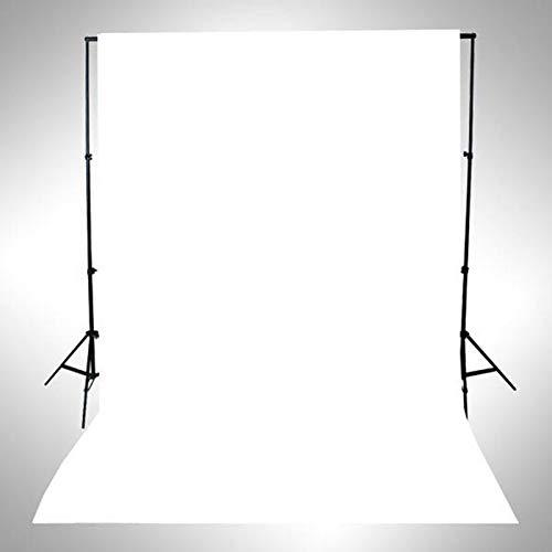 Weißcreen Hintergründe, 1.6m * 1m Weißscreen Fotostudio Hintergrund Muslin Faltbare Hintergrund Fotohintergründe Faltbare Weiß Tuch Background für Fotografie Video und Fernsehen (Weiß)