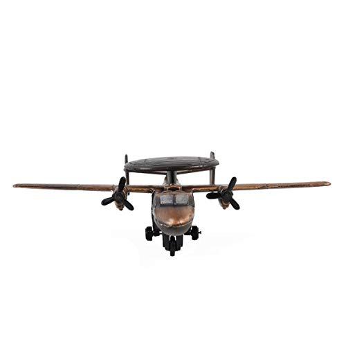 Treasure Gurus Bronze 1:200 Scale Model Hawkeye Plane Diecast Pencil Sharpener Military Vet Gift