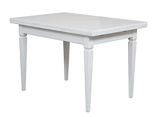 Arteferretto Table avec allonges laquée 120-200 cm