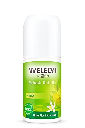WELEDA Desodorante Roll-On Limón Fresh, 50 ml.