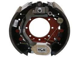 """Dexter K23-442-00 Electric Trailer Brake Assembly for 12K AXLE-Left HAND-12-1/4 X 5""""-SELF-Adjusting"""