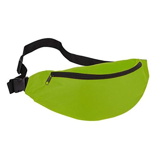 Gran capacidad al aire libre Deportes Crossbody Bolsa al aire libre Bolsa de pecho impermeable (verde)